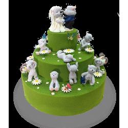 Торт Мишки