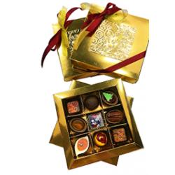 Роскошное собрание подарочная коробка на 9 конфет