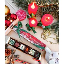 """""""Новогоднее чудо"""" подарочный набор на 6 конфет"""