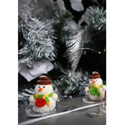 Марципановый снеговик