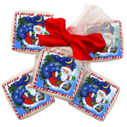 """Конфета с изображением""""Дед Мороз"""""""