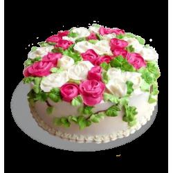 Торт Цветы