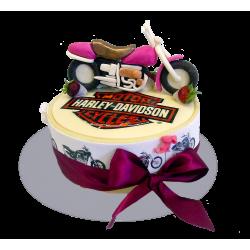 Торт для мотолюбителя