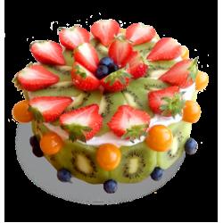 Торт Фруктовый рай