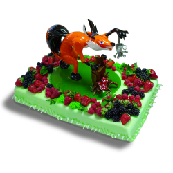 Торт хитрый лис