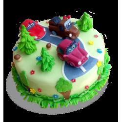 Торт Машинки