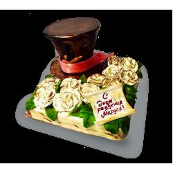 Торт с шляпой